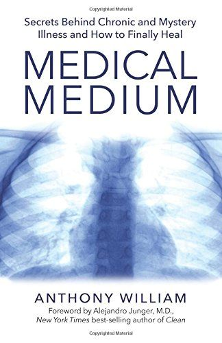 Medical Medium: Secrets Behind Chronic and Mystery Illness and How to Finally Heal by Anthony William http://www.amazon.com/dp/1401948294/ref=cm_sw_r_pi_dp_Ud9owb1EEN7VD