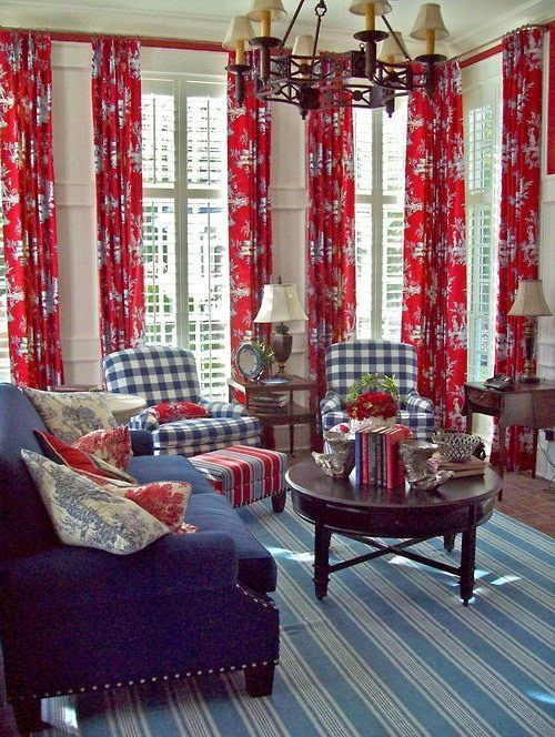 17 best red, white & blue rooms images on pinterest