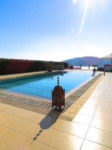 31 meters long terrace at VLK Rhodes - blog all about villa improvements.