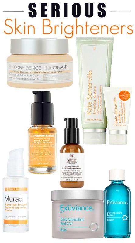 6 Serious Skin Brighteners