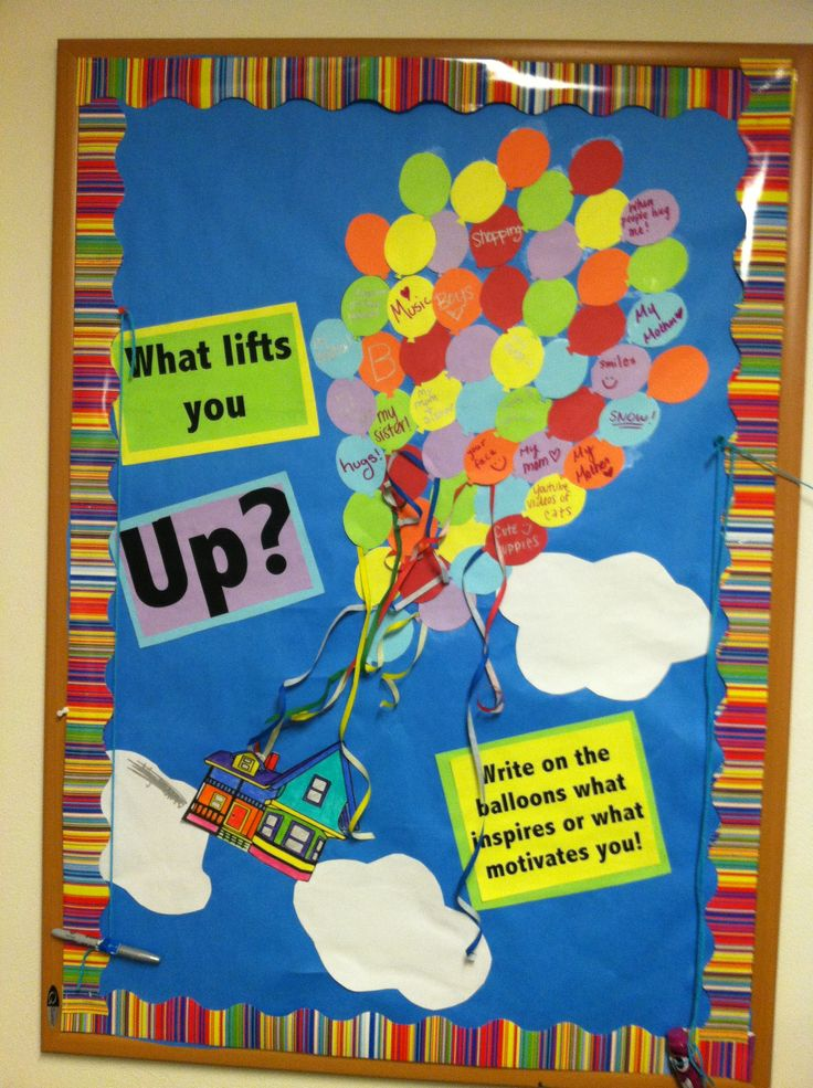 Inspiration bulletin board. great for chapter house