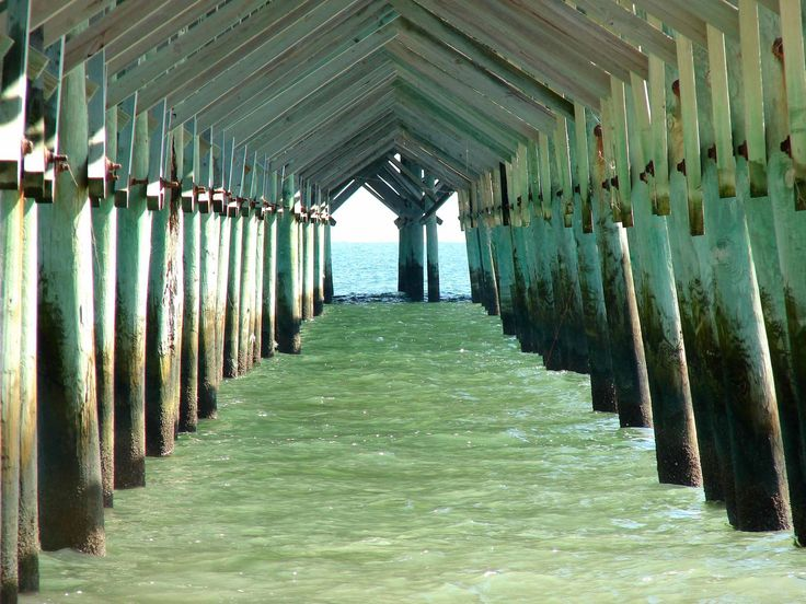 The Pier Cathedral.  Folly Beach, South Carolina. Need family pic here!