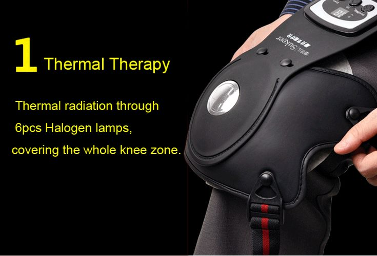 Infrared Heating Knee Elbow Shoulder Joints Massager Pain Relief Magnetic Recovery Therapy