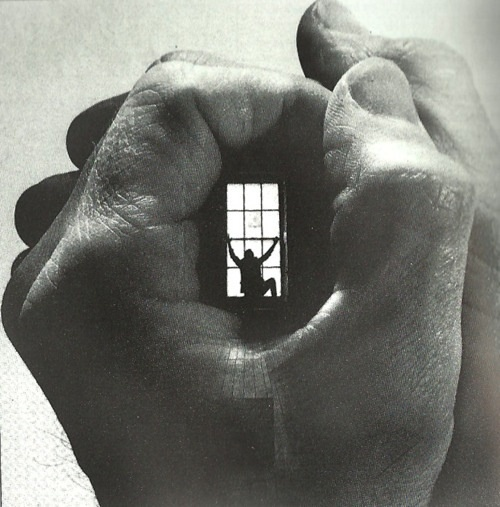 No freedom: Duane Michal, Inspiration, Surrealism, Window, Hands, Art Collage, Perspective, Black, Photography