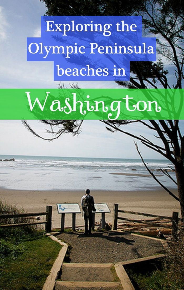 Exploring the beaches of the Olympic Peninsula, Kalaloch area in particular in Washington state
