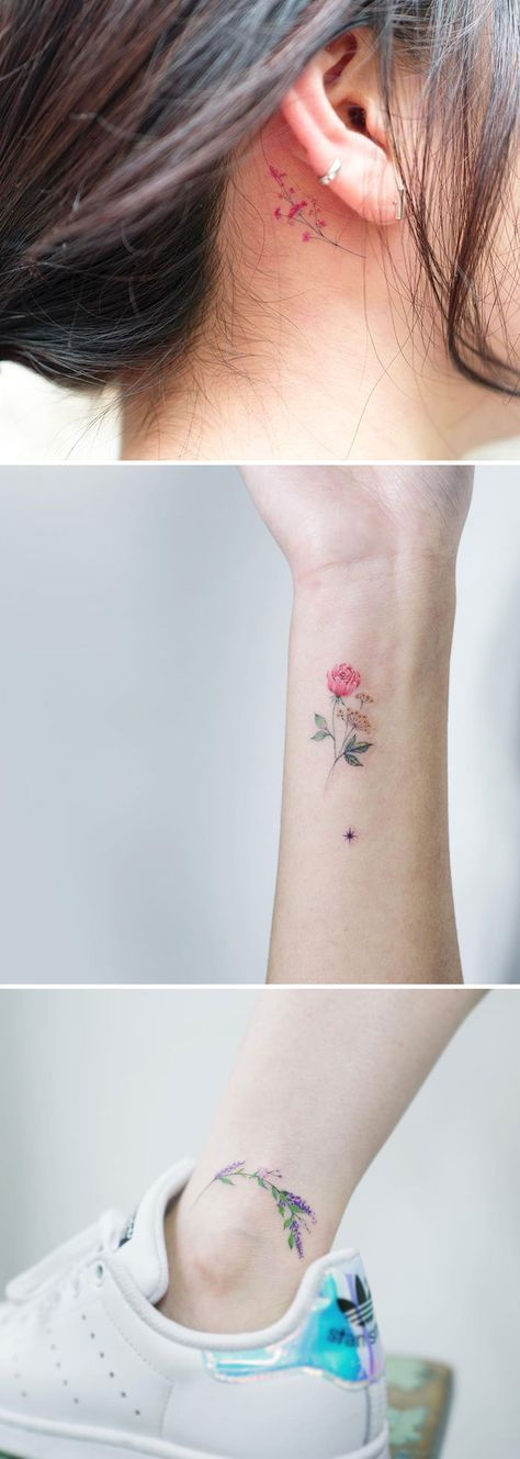 15+ Tattoo Artists Who Immortalize The Delicate Beauty of Flowers | Bored Panda