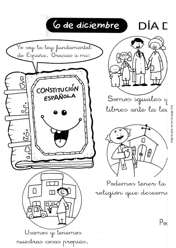 Menta Más Chocolate - RECURSOS PARA EDUCACIÓN INFANTIL: DÍA DE LA CONSTITUCIÓN ✿