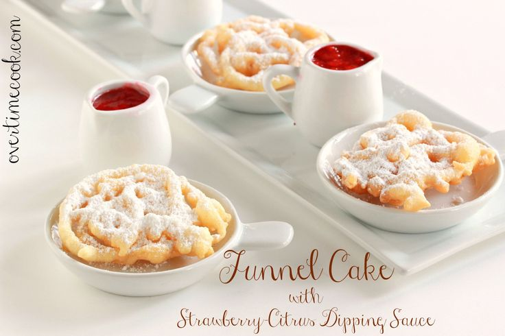 Homemade Funnel Cakes taste even better than the amusement park variety, and they're easy to make!