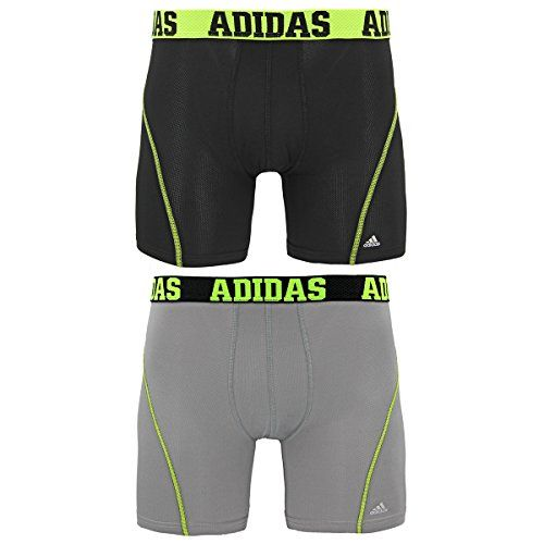 adidas Men's Sport Performance ClimaCool Boxer Underwear (Pack of 2) * For more information, visit https://www.amazon.com/dp/ B00DUTT3WE /?tag=fitnessztore-20&vw=110716012021