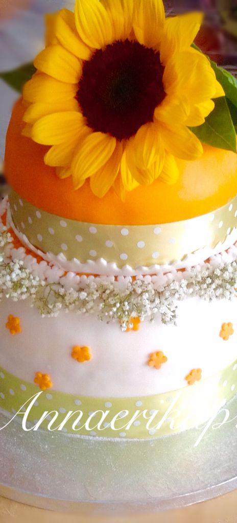 Birthaday cake, sunflower cake
