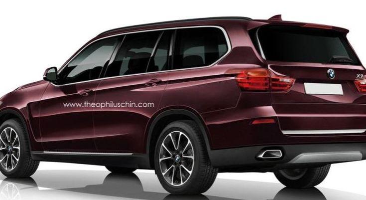 BMW X7 SUV Rendered Online