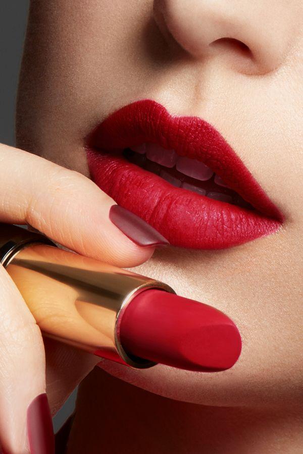 L Absolu Rouge Drama Matte Lipstick In 2020 Lipstick Lancome
