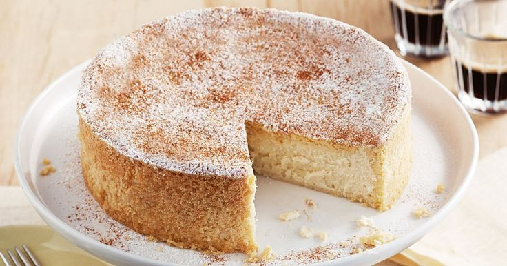 Dusted with sugar and spice (and all things nice), this creamy baked cheesecake is a real crowd pleaser.