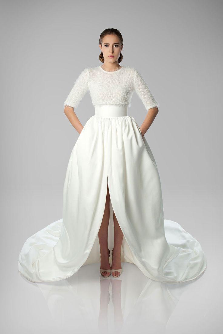 318 best Bridal Gown--High-Low images on Pinterest | Bridal dresses ...