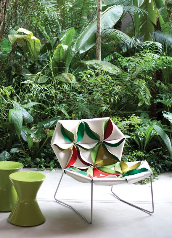 Patricia Urquiola for Moroso - in a tropical way