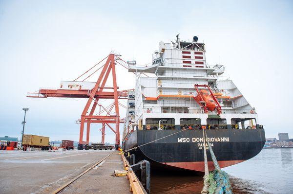 MSC #Shipping #cargo @portsaintjohn