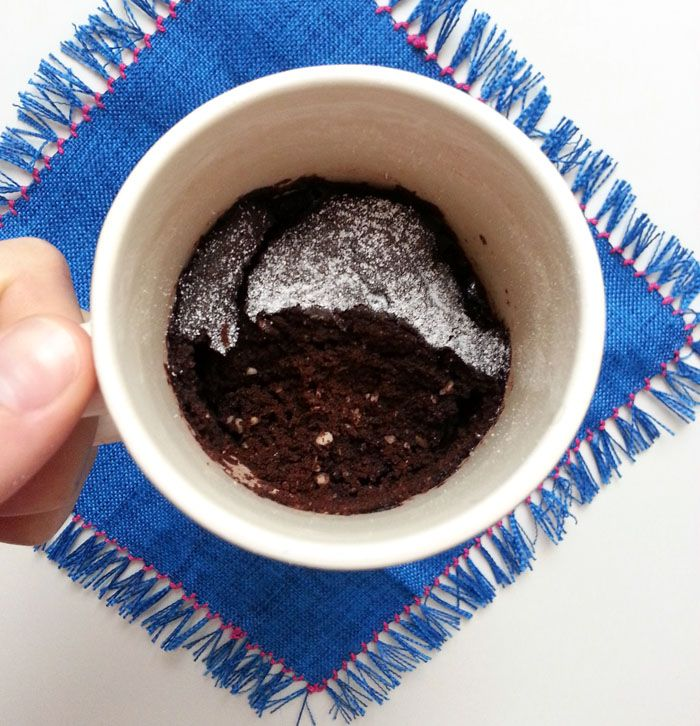 ricetta mugcake vegana light pronta in 5 minuti idea colazione merenda