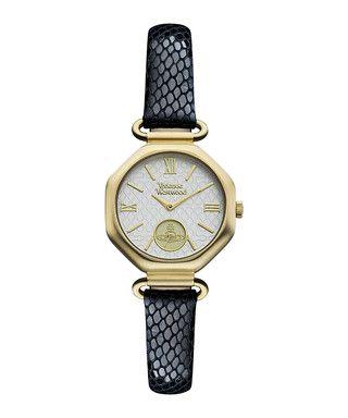 Westbury snake-effect leather watch Sale - Vivienne Westwood Sale
