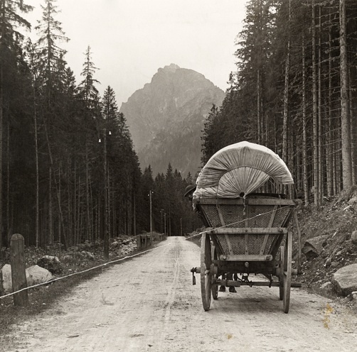Tatra Mountains, Hungary. Looks like Oregon. or old hwy to north tahoe