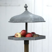 Bird feeder-upcycle a pot lid!