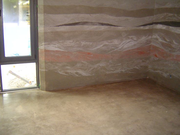 176 best rammed earth images on pinterest rammed earth for Mop for concrete floors