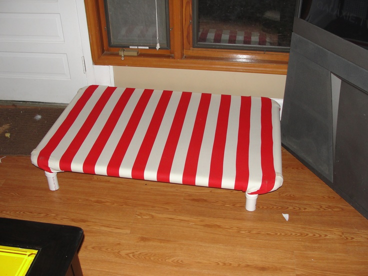 Homemade Raised Dog Bed 1 Crafts Pinterest Dog Beds And Dog