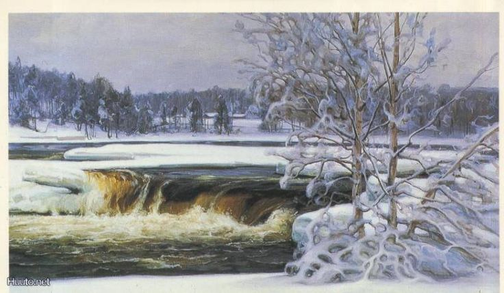 Talvinen Kymijoki, Viktor Westerholm (1860-1919)