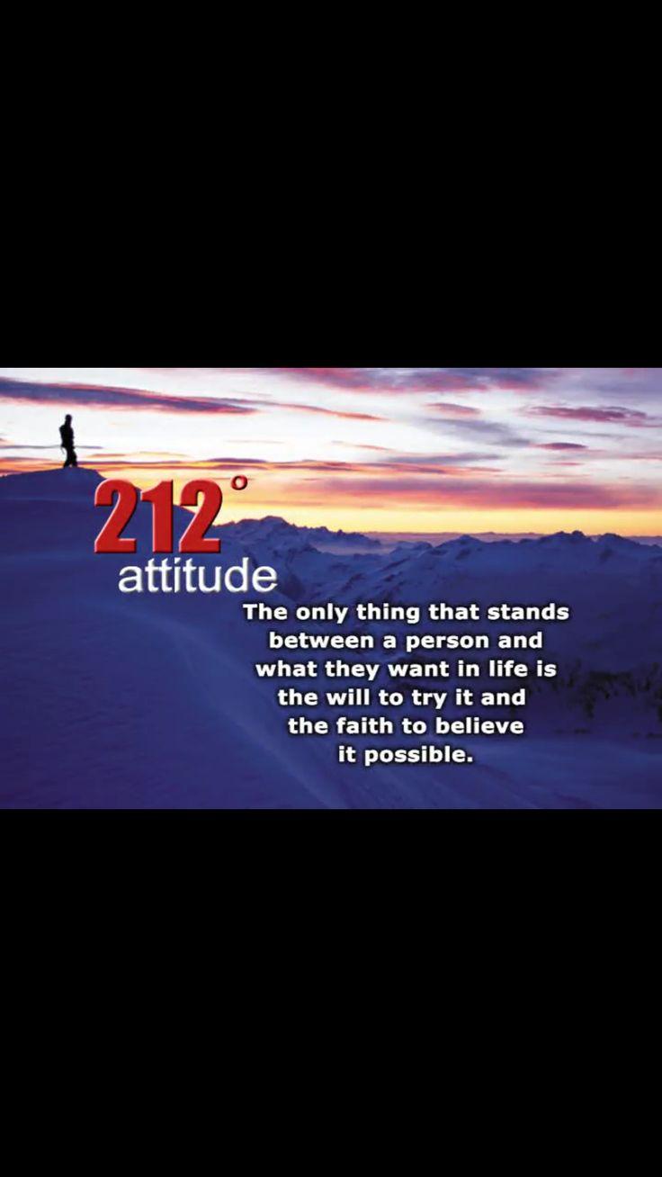 212 degrees - attitude | Education Quotes | Education ...