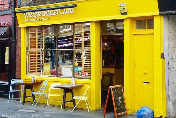 one of my favorite places... the breakfast club, soho, London, England