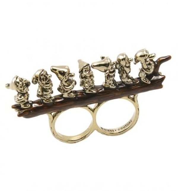This ring looks like a Disney version of brass knuckles... NOW RELEASING A NEW LINE OF DISNEY PRODUCTS.