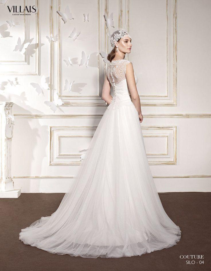 SILO | Wedding Dress | 2015 Couture Collection | by Sara Villaverde | Villais (back)