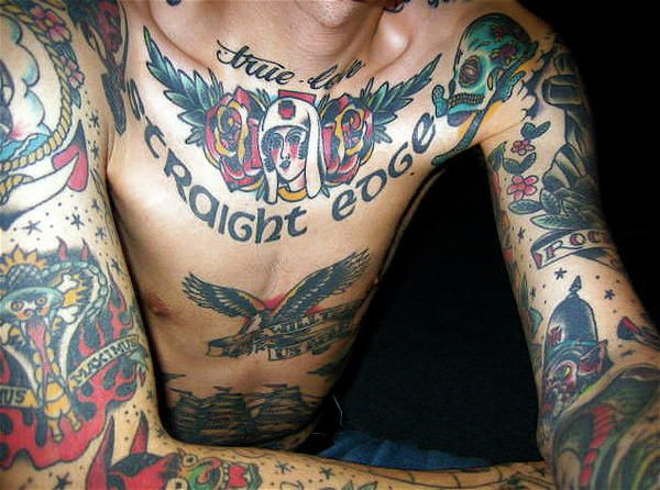Straight Edge Tattoos: 81 Best Ideas About Straight Edge Tattoos On Pinterest