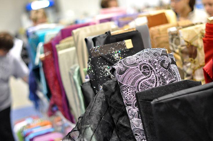 Fabrics - Visit the Creativ Festival with Maple Leaf Tours