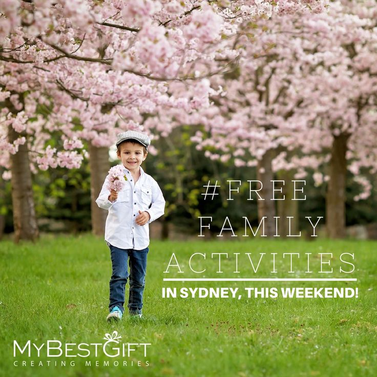 Looking for something fun to do with the family? We've put together our top 5 FREE activities happening in Sydney this weekend. https://goo.gl/tcBZAn