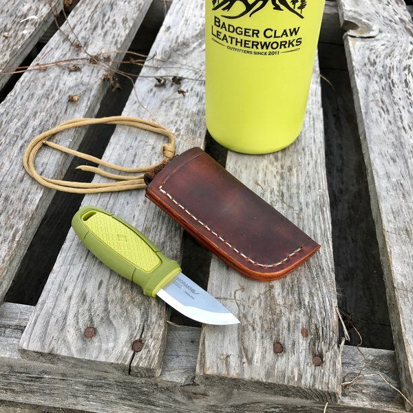 Leather Sheath - Mora Eldris | Badger Claw Leatherworks