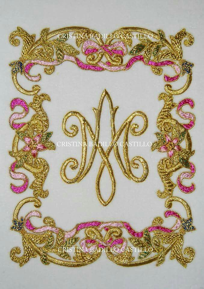Pin by mary martin embroidery on goldwork