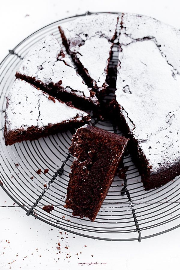 [rustic chocolate cake with walnuts and rum #chocolatecake #chocolate]