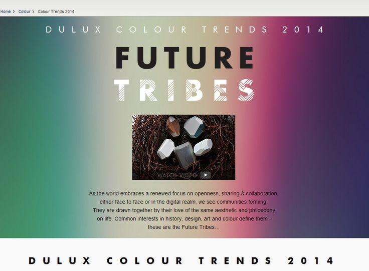 29 best images about dulux paint color trends for 2014 on. Black Bedroom Furniture Sets. Home Design Ideas