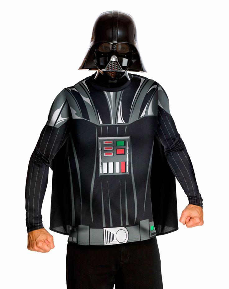 Disfraz Darth Vader, Kit. Star Wars Disfraz algo más económico del mítico Darth Vader.