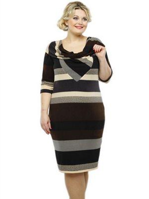Платья для полных в 2015: фото модных моделей для весны, лета, осени и зимы