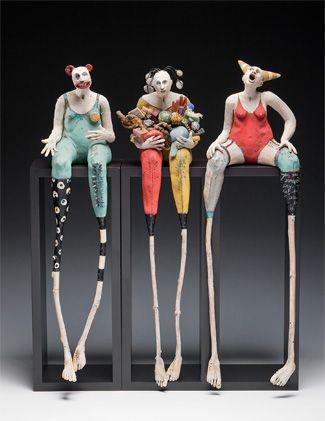 Nancy Kubale Wicker, Ceramic and multi-media