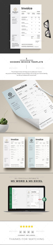 Invoice Invoice Design Template Invoice Template Invoice Design