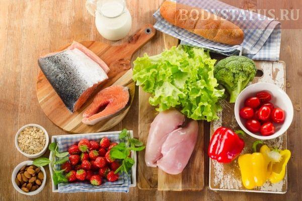 баланс белков, жиров и углеводов и правильное питание