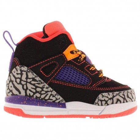 Jordan Spizike - Boys  Toddler - Basketball - Shoes - Black Bright  Crimson Court Purple Bright Citrus-sku 17701025  7a93fbcf3