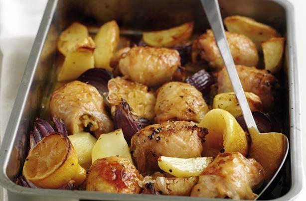 Lemon chicken tray bake recipe - goodtoknow