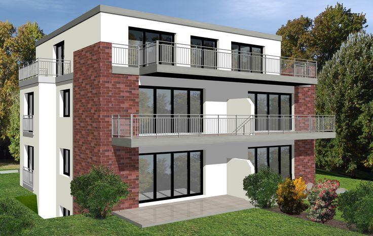 Ideal für die kleine Familie oder Paare: 3 Zimmer Neubau-Eigentumswohnung mit großem Balkon in HH-Langenhorn.  www.wohnschmiede-hamburg.de