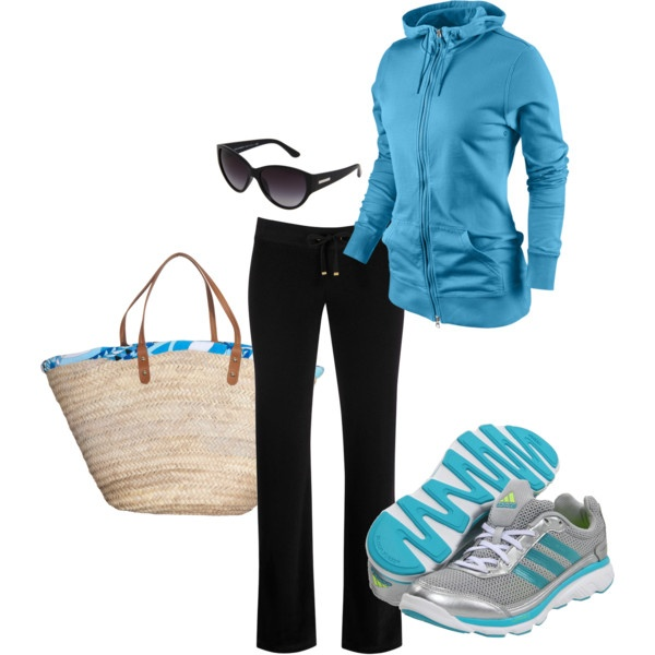 """Jogging outfit"" by kliptak on Polyvore"