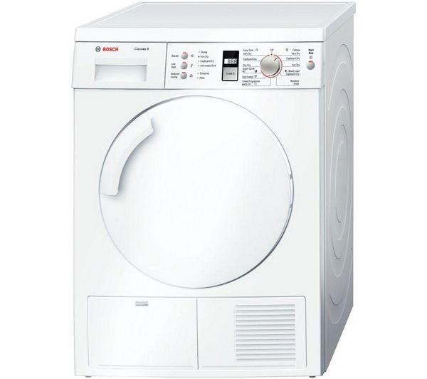 Bosch Classixx WTE84305GB Condenser Tumble Dryer - White