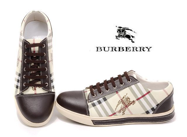 I realize this is a man's shoe, but maybe no one would notice... Burberry Mens Causal Shoes 001 |10230| :