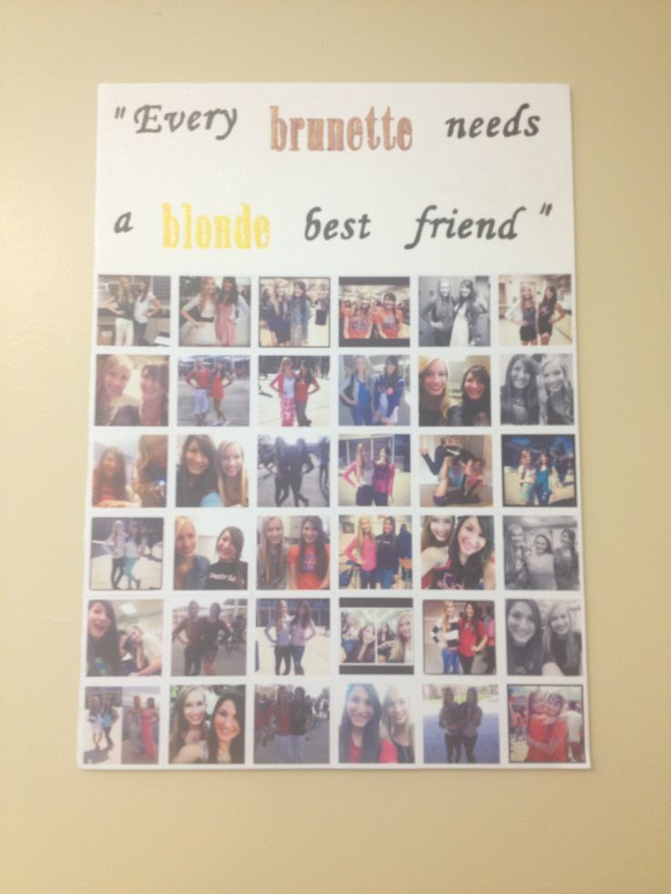 Seniors! Me and my best friend took one picture each day of senior year and then made posters with the pictures to take with us for our dorms in college